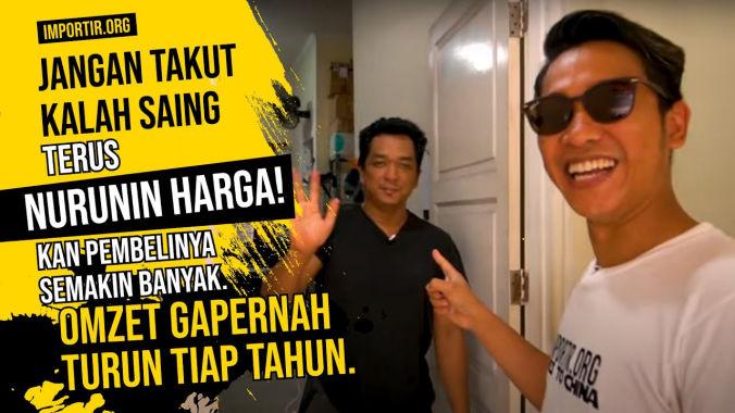 Strategi Jual Barang IMPORT Tanpa NURUNIN HARGA di importir.org